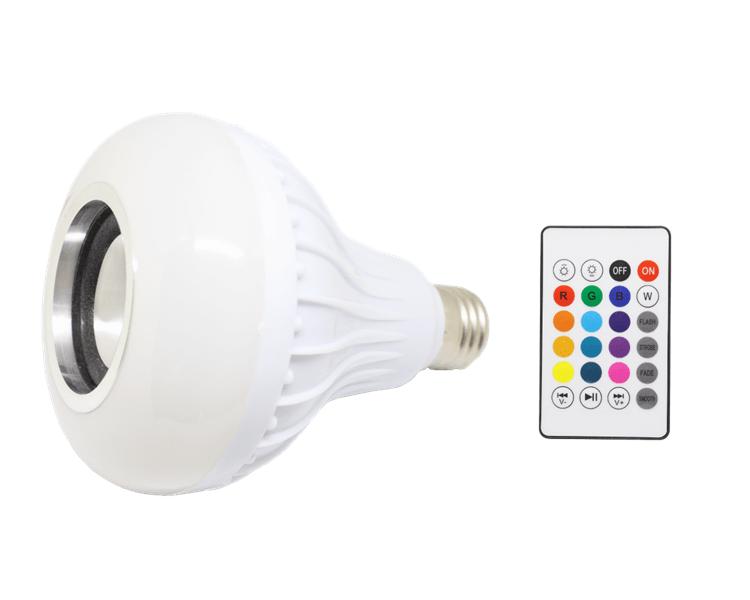 Fantastisk Smart LED pære med indbygget højtaler til Bluetooth. Kun 139,- kr VO68